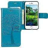 iPhone 7 Plus / 8 Plus Hülle, CLM-Tech Tasche aus Kunstleder Wallet Case -...