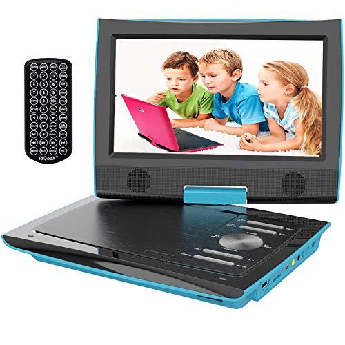 IeGeek Reproductor DVD Portátil Coche Niños Pantalla