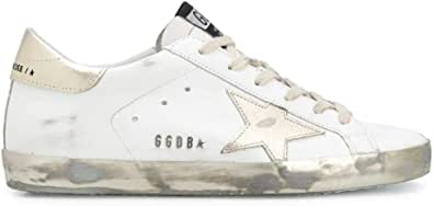 Golden Goose Luxury Fashion Donna GWF00101F00031610272 Bianco Pelle Sneakers   Stagione Permanente
