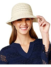 a0d492cc Nine West Womens Packable Metallic Cloche Hat One Size Gold