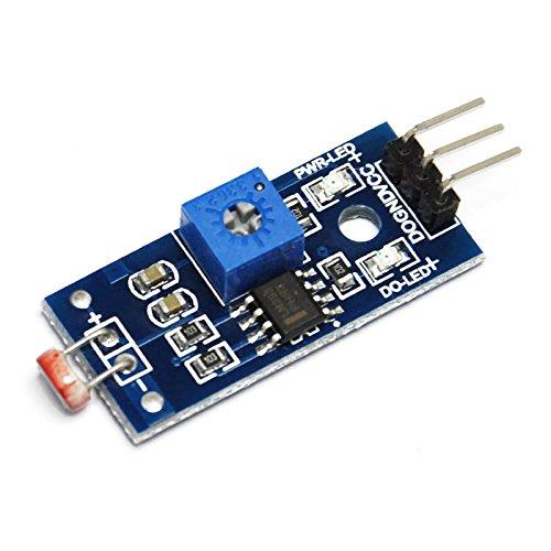 Cellule crépusculaire LM393 réglable Arduino Nano/Uno/Raspberry