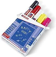 Edding 4090 - Marcador (Multi, Color blanco, De plástico)