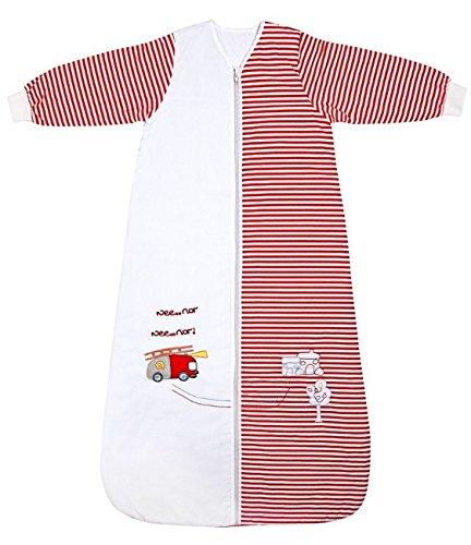 Produktbild Schlummersack Baby Winter Schlafsack Langarm 3.5 Tog 110cm / 12-36 Monate - Feuerwehr