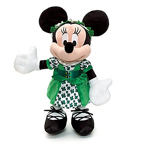 Official Disney 38cm Minnie Mouse Dublin Soft Peluche Toy
