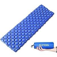 FLYTON Sleeping Mat,Camping Mat,Inflatable Mattress,Ultralight&Compact Camping Sleeping Pad For Backpacking, Hiking,Tent,Sleeping Bag