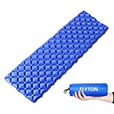 Best Camping Pads - FLYTON Sleeping Pad, Inflatable Sleeping Mat,Ultralight&Compact Camping Mattress Review