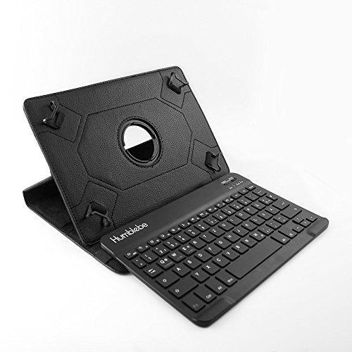 360° drehbare Schutzhülle + Bluetooth Tastatur für 9