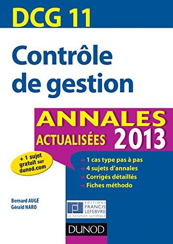 DCG 11 - Contrôle de gestion - 5e éd. ...