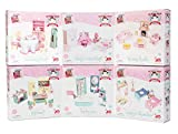 Le Toy Van Wooden Daisylane Sitting Room Doll's House Furniture Set With Sofa, Chair, Cushions, Coffee Table, Coffee Set, Cat and Fireplace Ideal For 10-15cm Dolls