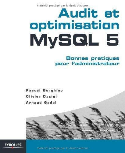 Audit et optimisation MySQL 5 : Bonnes pratiques pour l'administrateur de Pascal Borghino (25 mars 2010) Broché