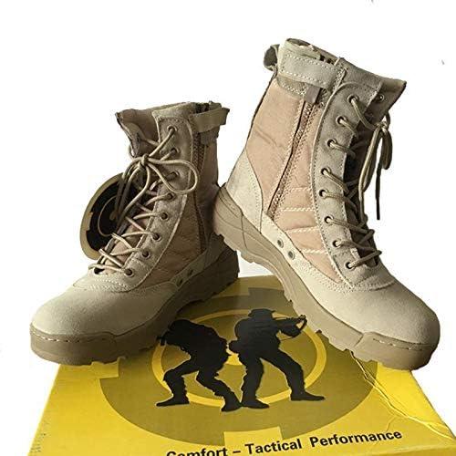 HCBYJ scarpa Stivali Tattici Esterni da Uomo, Uomo, Uomo, Stivali da Trekking, Stivali da Combattimento Antiscivolo desertici per Aiutare a Viaggiare B07M7D7VC7 Parent | Acquisto  | Più economico del prezzo  be2f9c