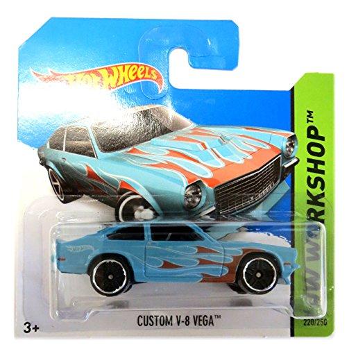 Preisvergleich Produktbild Hot Wheels Facel Vega V-8 Custom hellblau Flames 1:64