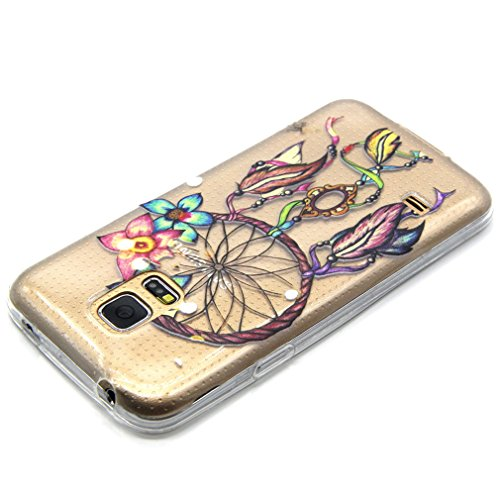 A9H iPhone 5 5S SE Hülle Case Cover Painting TPU Crystal Clear Tasche Handyhülle Schutzhülle 01HUA 16HUA