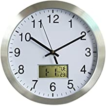 GANADA Reloj de Pared Digital 12