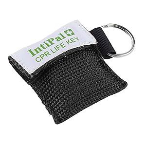 saveinasnap 1/2/5/10 Stücke Beatmungsmaske Schlüsselanhänger Beatmungshilfe Notfalltuch Taschenmaske Erste Hilfe 4 Farben