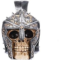 Skeleton - Diseño gótico con casco, regalo de cumpleaños