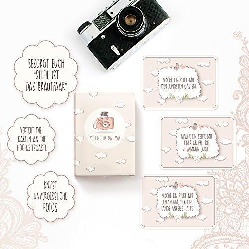 Hochzeitsspiel | Box mit kreativen und lustigen Fotoaufgaben - 2