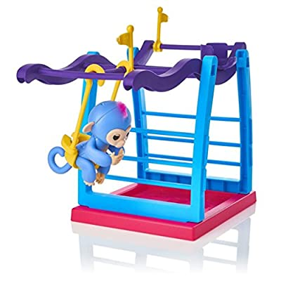 OHQ Jungle Swing Gym Playset Interactive Baby Monkey Climbing Stand
