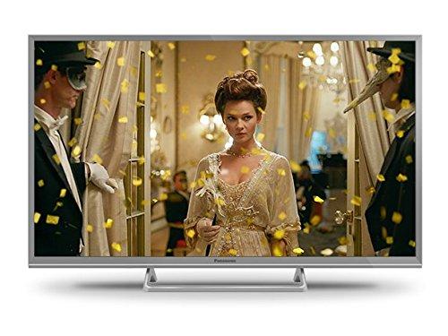 Panasonic TX-32ESW504S 80 cm (32 Zoll) LCD Fernseher (HD ready, 600Hz bmr, Quattro Tuner, TV auf IP Client, USB Recording) silber
