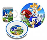 Sonic The Hedgehog Breakfast Set Characters Easy Licences