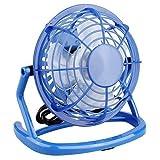 USB Fan Summer Cooler Cooling Desktop Mini Fan , Winmany Mini Super Mute Laptop Computer PC USB Fan Cooler Cooling Desktop Small Fan (Blue)