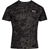 Under Armour UA Speed Stride Printed SS T-Shirt Homme, Noir, M