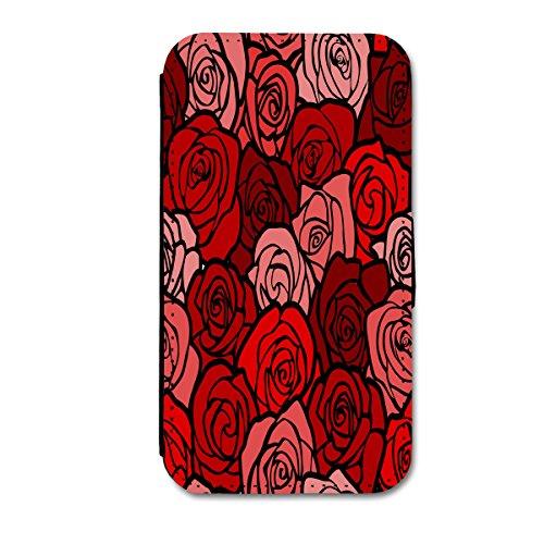 Book Style Flip Handy Tasche Case Schutz Hülle Schale Motiv Etui für Apple iPhone 6 - 4,7 Zoll - Flip 1A50 Design1 Design 7