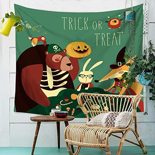 (Wandteppich, Sitzdecke Halloween Wandbehang Tuch Polyester Wandhalterung Druck Strandtuch Home Wanddekoration TV Hintergrund Wand Schlafzimmer Wohnzimmer Hängen ( Color : 003 , Size : 150cm*100cm ))