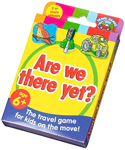 Are We There Yet? Travel Card Game (Versione Inglese)