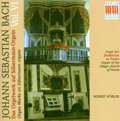 Preisvergleich Produktbild Das Orgelwerk auf Silbermann-Orgeln Vol. 6 (Die Orgel der Kirche zu Ponitz)