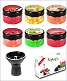Sophies Stone HOOKAH SHISHA STEAM 6 FLAVOURS with1 VORTEX BOWL & 1 FLAVOUR