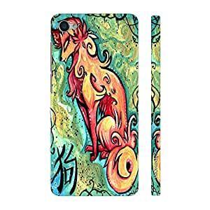 Enthopia Designer Hardshell Case Chinese Zodiac Dog Back Cover for Vivo Y55