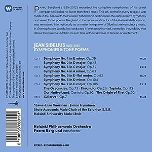 Sibelius: Symphonies Kullervo Finlandia Tapiola from Warner Classics/Wea