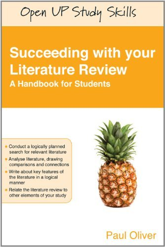 Succeeding With Your Literature Review: A Handbook For Students (Open Up Study Skills)