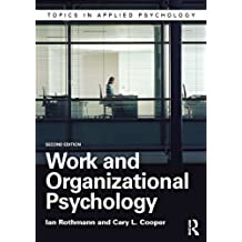 Work and Organizational Psychology (Topics in Applied Psychology) (English Edition)