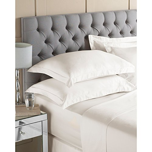 Ivory King-spannbetttuch (Egyptian Quality Cotton Ivory Fitted King Bed Sheet)