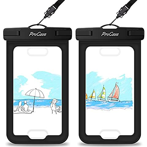 Waterproof Case with Touch ID, ProCase Cellphone Dry Bag Pouch