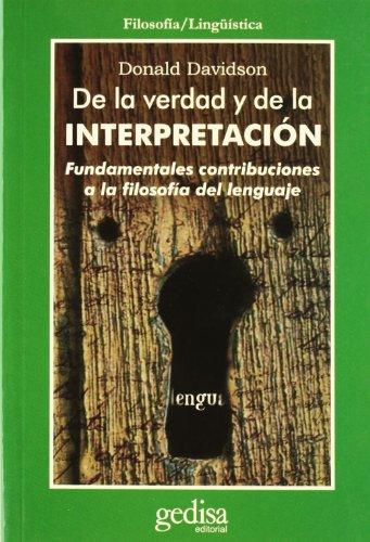 De la verdad y de la interpretacion Epub Gratis