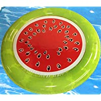 Inflatable Watermelon Pool Float Lounge (Choose Your Treat) (Watermelon) by H2Whoa