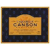 Canson l' acquerello Canson eredità Blocco 4Lati 20fogli grana fine Grana fine 23 x 31 cm