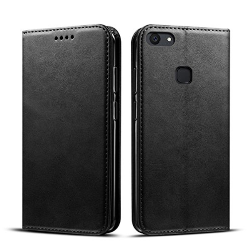 ChainPlus Vivo V7 Plus Wallet Case, Stylish Slim PU Leather Excellent Stand and Card Holders Wallet Phone Cover Leather Cover Protective Case for Vivo V7 Plus - (Light Custom Switch)
