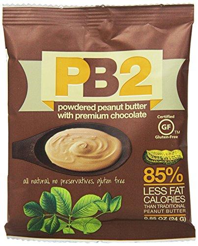 Bell Plantation PB2 Individual Pack Chocolate Powdered Peanut Butter, 12 Stück -