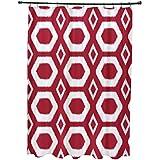 E por diseño más abrazos y besos impresión geométrica cortina de ducha, fórmula uno