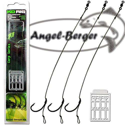Angel Berger KD Rig Boilierig 3 pcs (Gr.6, 18cm, 25lb)