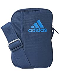 Sacoche adidas bleue pour homme - bleu, M