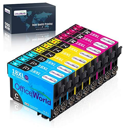 OfficeWorld 18XL Alta Capacidad Cartuchos Tinta Compatible