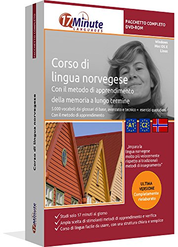 Corso di Norvegese (PACCHETTO COMPLETO): Software di apprendimento su DVD