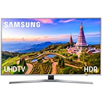 "Samsung 49MU6405 - Smart TV 49"" 4K UHD HDR (pantalla slim titanio,1500 Hz PQI, Quad-Core, Active Crystal Color, 3 HDMI, 2 USB)"