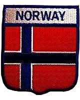 l nderflagge norwegen aufn her patch norway aufb gler patch t25 amazon de bekleidung
