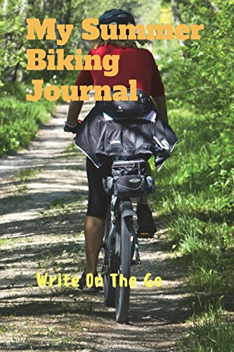 My Summer Biking Journal: Good Days Start With Love and Gratitude. Treasure your good moments in   your life and keep them as a beautiful gems which never fade away. Write on   the go por Leisure Journals